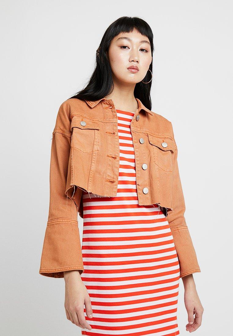 Glamorous - Denim jacket - orange rust