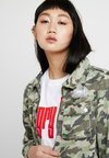 Glamorous - UTILITY - Denim jacket - khaki