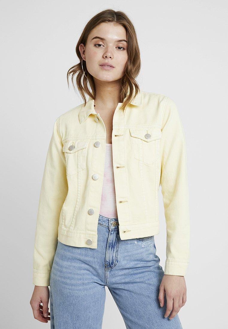 Glamorous - Jeansjacke - light yellow