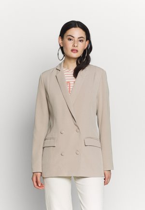POCKET DETAIL - Blazer - stone