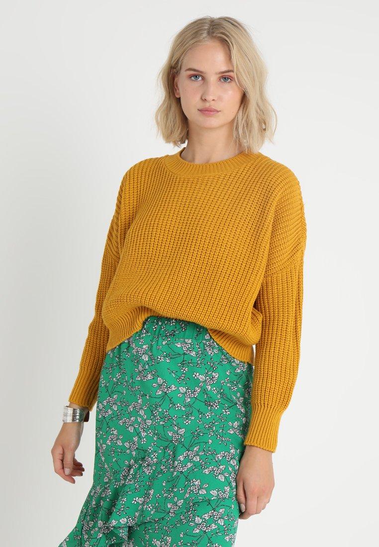 Glamorous - Jumper - mustard