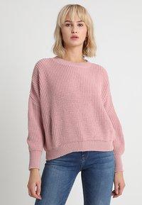 Glamorous - Strickpullover - light dusty pink - 0