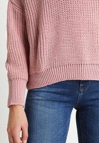 Glamorous - Strickpullover - light dusty pink - 5