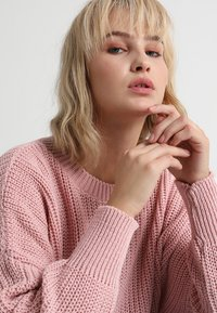 Glamorous - Strickpullover - light dusty pink - 3