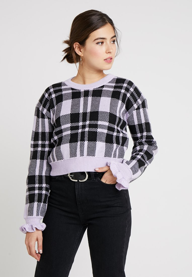 Glamorous - Strickpullover - lilac