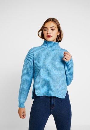 Strickpullover - blue marl
