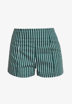 Shorts - green/white