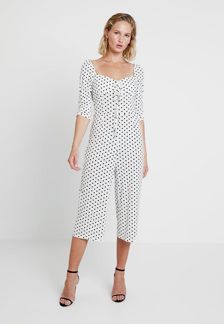 Glamorous - Overal - white/black