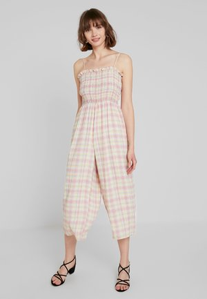Jumpsuit - pink/yellow