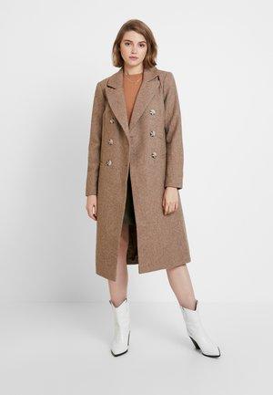 Classic coat - oat brown