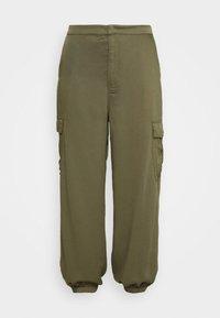Glamorous Curve - COMBAT TROUSER - Kalhoty - light khaki - 4