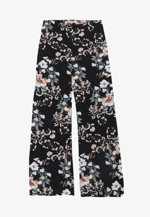 ORIENTAL WIDE LEG TROUSER - Broek - black