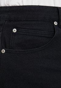 Glamorous Curve - KNEE LENGTH SKIRT WITH FRONT SLIT - Jeansskjørt - black - 3