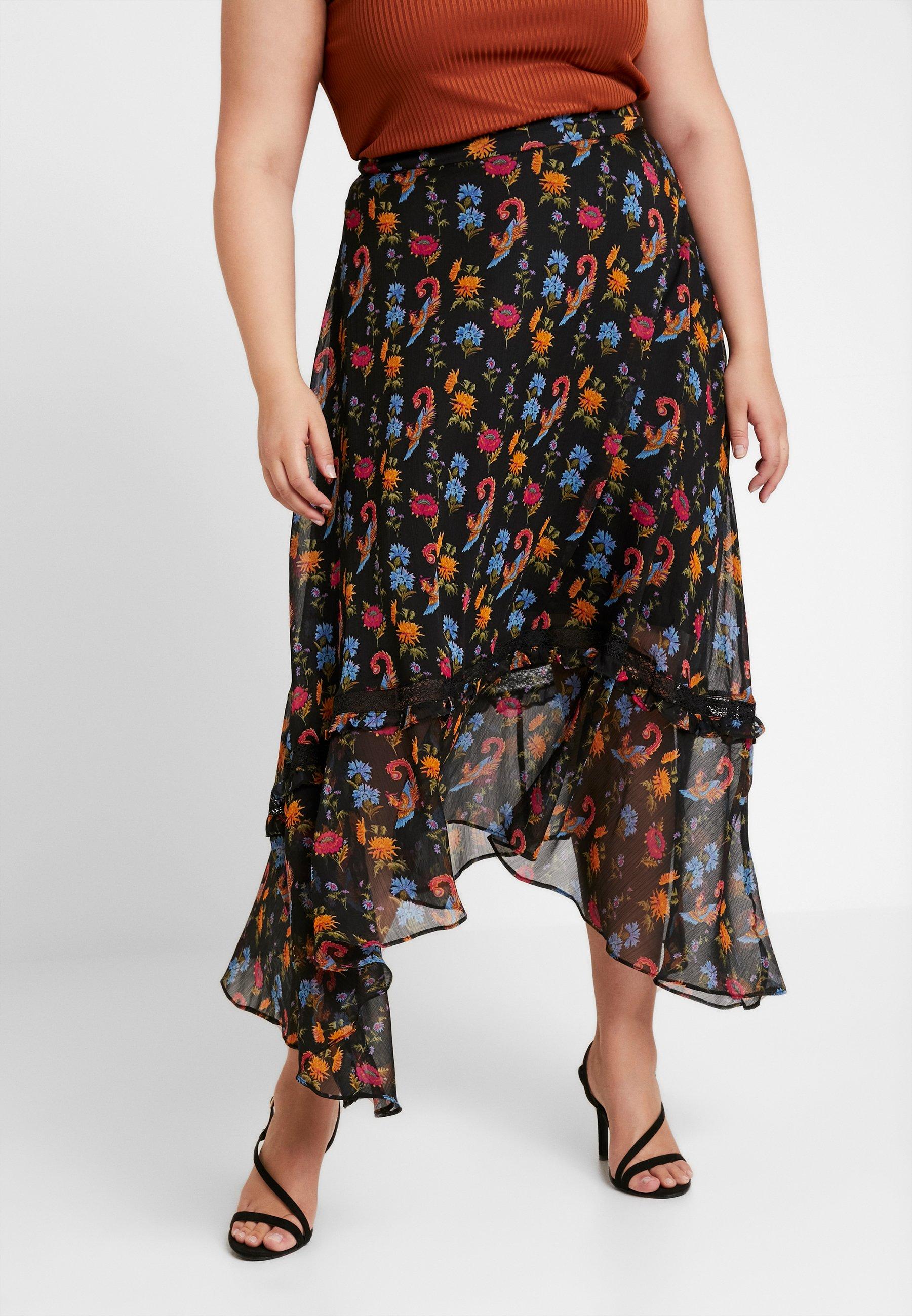 Curve Black SkirtJupe Glamorous Longue hrCtQsdx