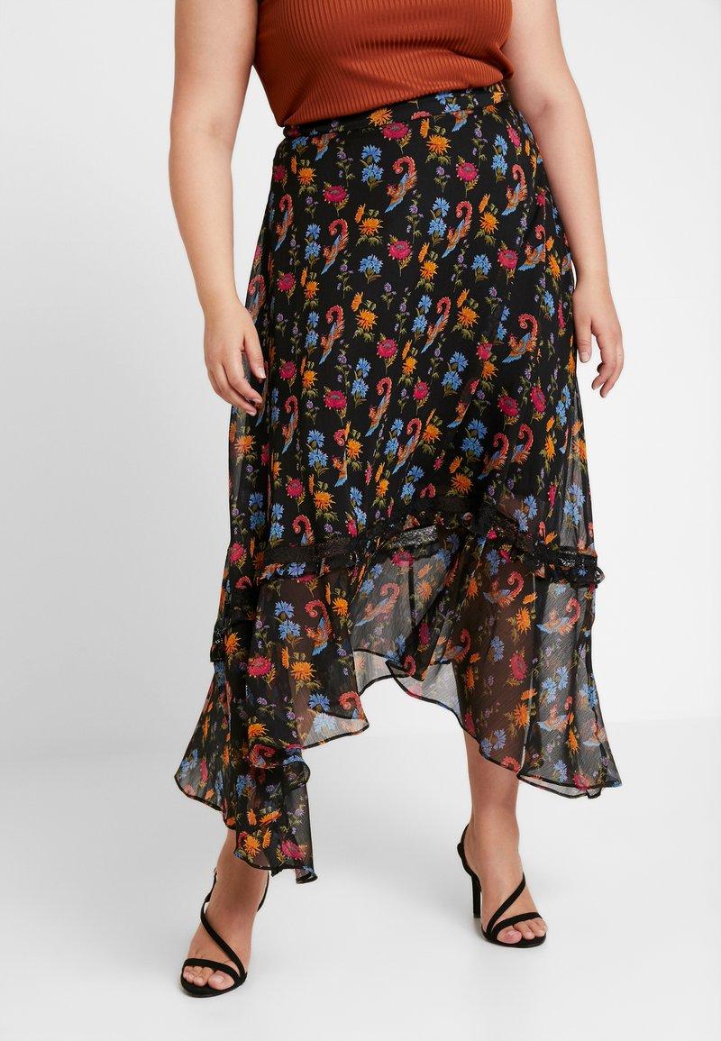 Glamorous Curve - SKIRT - Maxi sukně - black