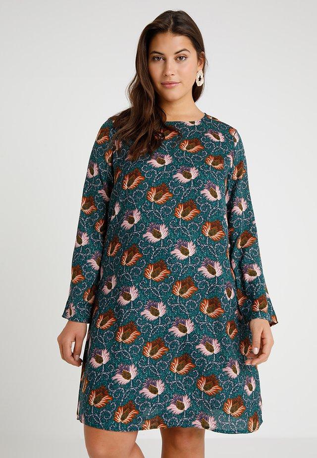 EXCLUSIVE DRESS  - Denní šaty - green/multi