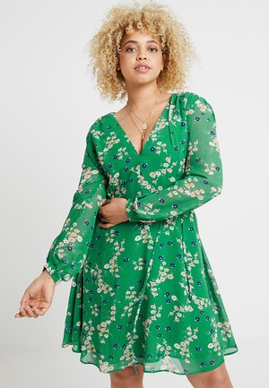 DRESSES FLORAL - Kjole - green/lilac