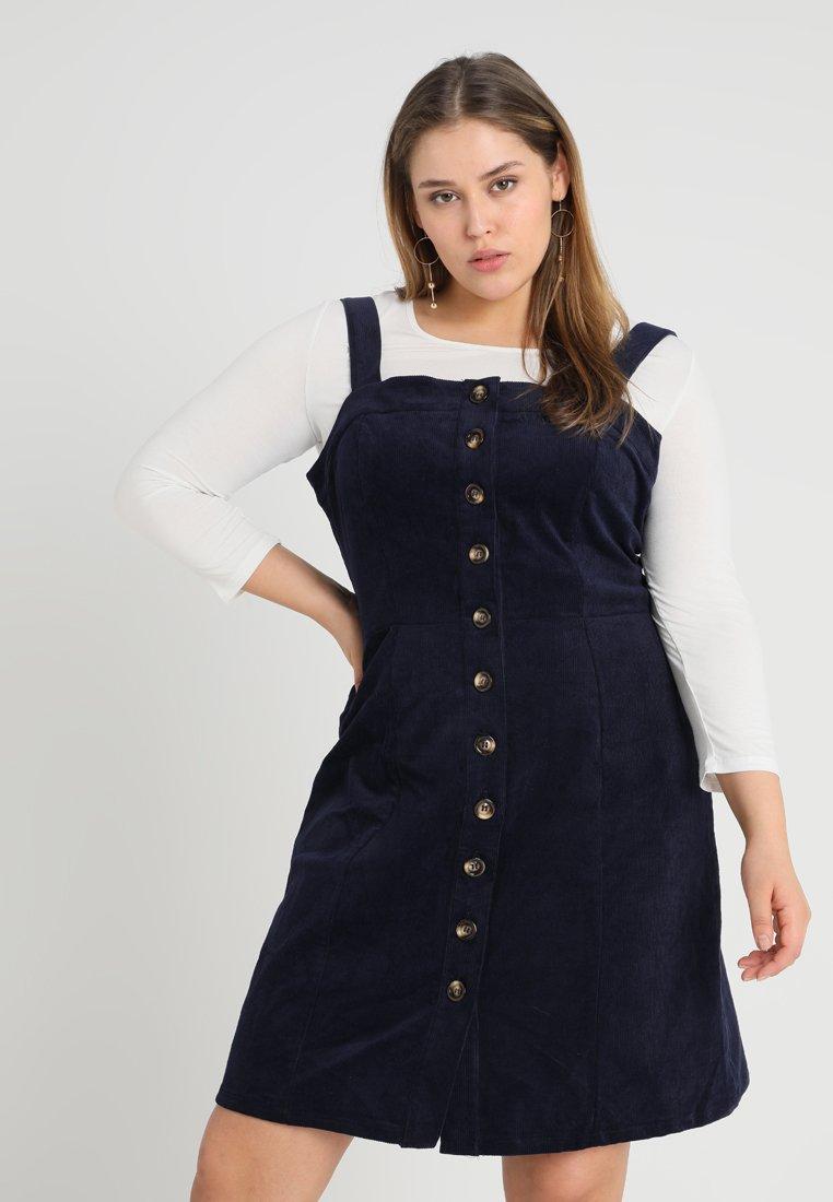 Glamorous Curve - PINAFORE  - Day dress - navy