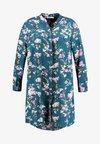 LONG SLEEVE PRINTED SHIRT DRESS - Abito a camicia - multi-coloured