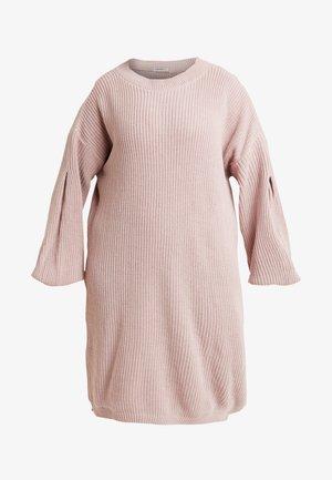EXCLUSIVE DRESS  - Neulemekko - mauve