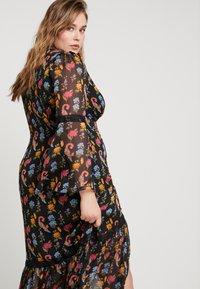 Glamorous Curve - V NECK DRESS - Robe longue - black - 5