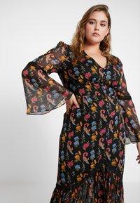 Glamorous Curve - V NECK DRESS - Robe longue - black - 4