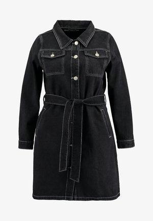 MINI DRESS - Dongerikjole - black