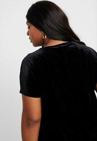 Glamorous Curve - VELVET DRESS - Vardagsklänning - black - 6