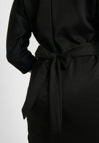 Glamorous Curve - BELTED DRESS - Pouzdrové šaty - black - 5