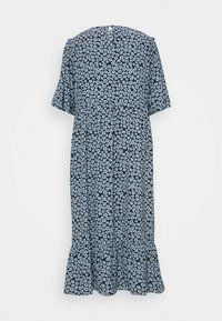 Glamorous Curve - MINI FLORAL MIDI DRESS - Day dress - dusty blue - 1