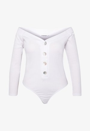 LONG SLEEVE BARDOT - Langarmshirt - white