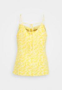 Glamorous Curve - COWEL NECK PRINTED CAMI - Top - yellow - 1