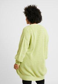Glamorous Curve - CARDIGAN - Gilet - wasabi green - 2
