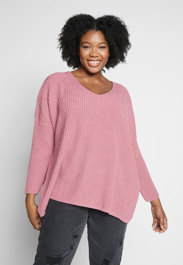 JUMPER - Jersey de punto - pink