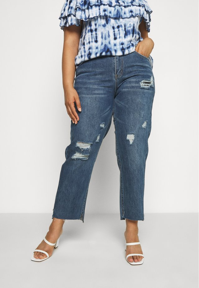 Jeansy Skinny Fit - mid blue wash