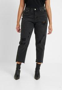 Glamorous Curve - Vaqueros slim fit - black - 0