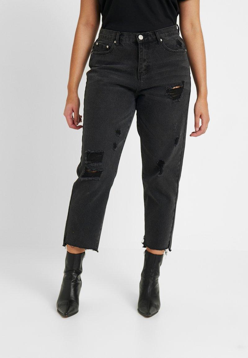 Glamorous Curve - Vaqueros slim fit - black