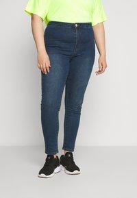 Glamorous Curve - Skinny džíny - dark blue denim - 0