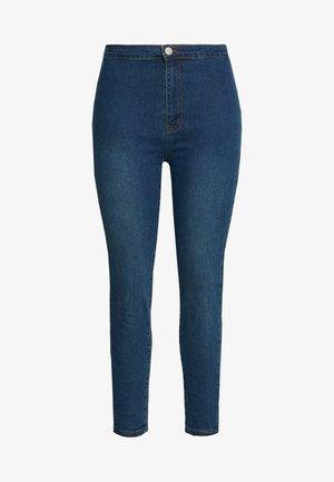 Jeans Skinny - dark blue denim