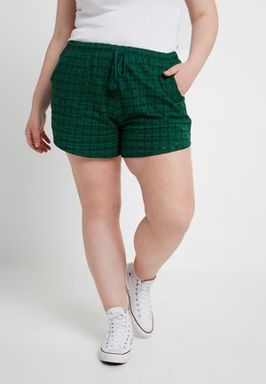 BRODERIE - Shorts - dark green