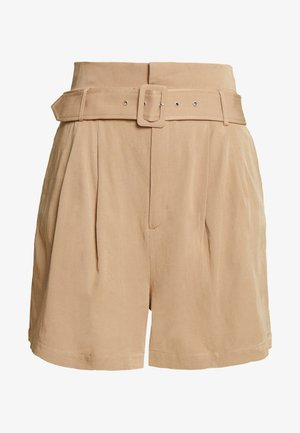 BELTED - Shorts - stone