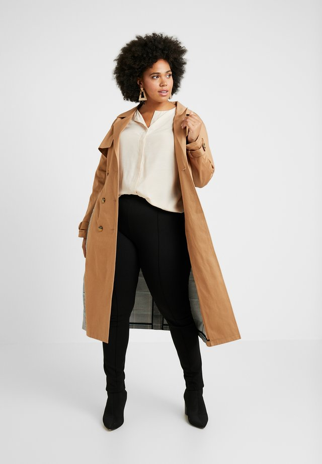 MIX AND MATCH - Trenchcoat - stone