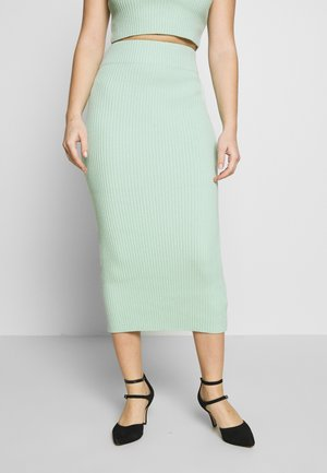 MIDI SKIRT - Pencil skirt - mint