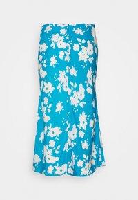 Glamorous Petite - AZURE PRINT SKIRT - Falda acampanada - blue - 1