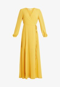 Glamorous Petite - WRAP MIDI DRESS - Maxi dress - yellow - 4