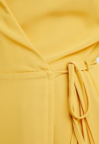 Glamorous Petite - WRAP MIDI DRESS - Maxi dress - yellow - 5