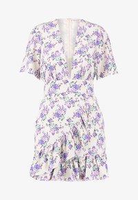 Glamorous Petite - DITSY DRESS - Freizeitkleid - cream/lilac - 4