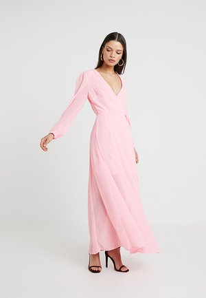 Maxikjole - bright pink