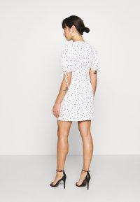 Glamorous Petite - STUDIO: HEART PRINT DRESS - Day dress - white - 2