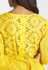Glamorous Petite - BRODERIE DRESS - Day dress - yellow - 5